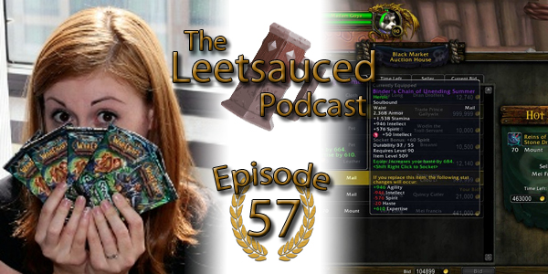This week our guest is Katie from /pizza. (You may also recognize her work as Lynesta on Word of Glory, or your might have seen her demoing WoW TCG at […]
