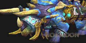 Horridon - Second Boss in Throne of Thunder raid 5.2