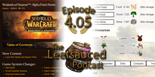 In this week's host-filled episode, we talk about the Warlords of Draenor alpha notes released by Blizzard last week, focusing on the general game-play changes and strategic decisions looking forward. […]